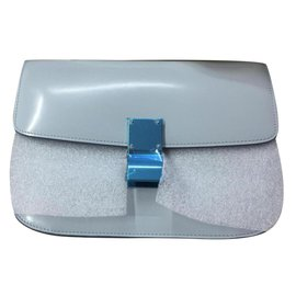 Céline-CELINE CLASSIC BOX MEDIUM NEW-Light blue