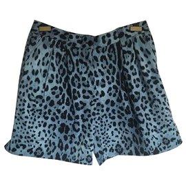 Dolce & Gabbana-short-Bleu