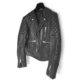 Balenciaga-PERFECTO QUILTED MOTORCYCLE-Black