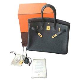 Hermès-Birkin 35-Black