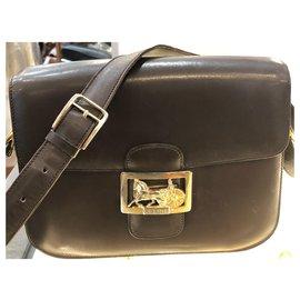 Céline-Shoulder bag-Dark brown