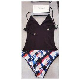 Chanel-Swimsuit Chanel black / multicolor 2016-Black,Multiple colors