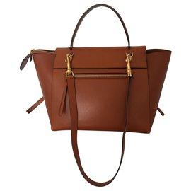 Céline-Celine Mini Belt Bag Camel-Caramel