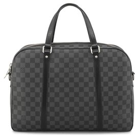 Louis Vuitton-Louis Vuitton Black Damier Graphite Jorn-Noir,Gris