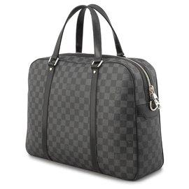 Louis Vuitton-Louis Vuitton Black Damier Graphite Jorn-Black,Grey