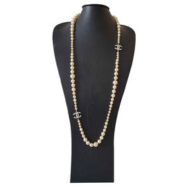 Chanel-Pearl Chanel necklace-Other