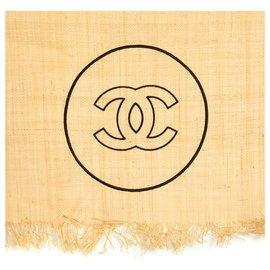 Chanel-BEACH TOWEL AND CARPET-Marron,Noir,Beige