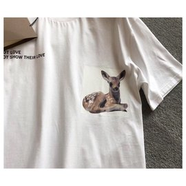 Burberry-Burberry Bambi T-Shirt S-White