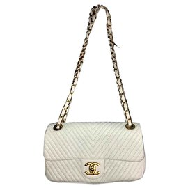 Chanel-Classic Flap-White