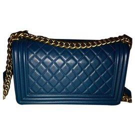 Chanel-Le boy-Blue,Golden