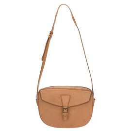 """Louis Vuitton-Lovely Louis Vuitton bag """"Young Girl"""" model + matching checkbook holder in beige epi leather in good condition!-Beige"""