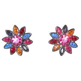 Yves Saint Laurent-Earrings-Multiple colors