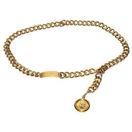 Chanel-Gürtel-Golden
