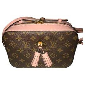 Louis Vuitton-Saintonge-Brown