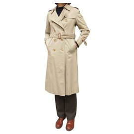 Burberry-vintage Burberry trench 32/34-Beige