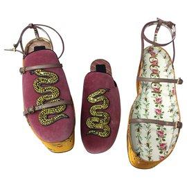Gucci-Sandales Tibet-Multicolore