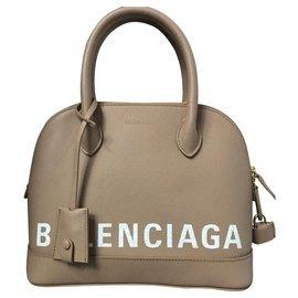 Balenciaga-BALENCIAGA HANDBAG MODEL VILLE S BRAND NEW SAC-Beige