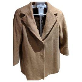 Max Mara-Manteaux, Vêtements d'extérieur-Cognac