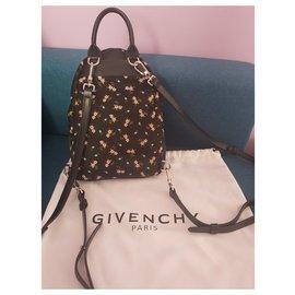 Givenchy-Sac à dos en toile-Noir