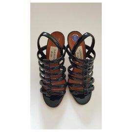 Lanvin-Sandales-Noir
