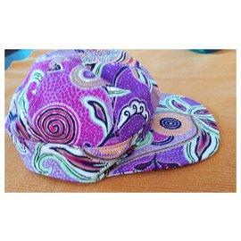 Etro-Chapeau de baseball Etro-Violet