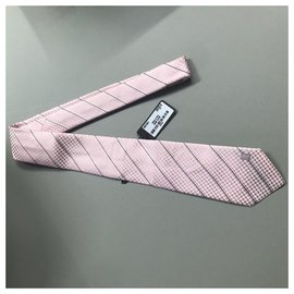 Louis Vuitton-ROSE TIE LOUIS VUITTON BOX TIE NEW-Pink