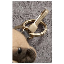 Burberry-Burberry, Bijou porte-clés Thomas Bear avec trench-coat KEY RING-Beige