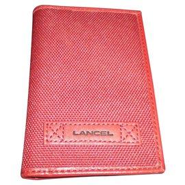 Lancel-Purses, wallets, cases-Red