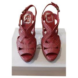 Dior-Sandales-Corail