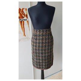 Chanel-die Röcke-Mehrfarben