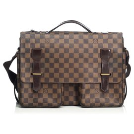 Louis Vuitton-Louis Vuitton Brown Damier Ebene Broadway-Brown
