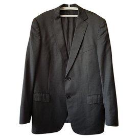 Ermenegildo Zegna-Vestes Blazers-Gris