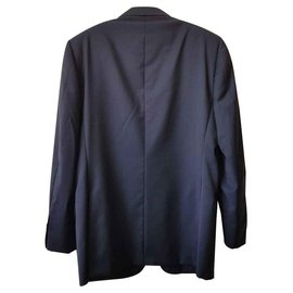 Ermenegildo Zegna-Blazers Jackets-Navy blue
