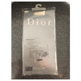 Christian Dior-Mi bas-Écru