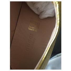 Gucci-Peggy plateaux-Golden