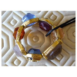 Chanel-Bague Chanel-Multicolore