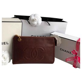 Chanel-CC Clutch-Bordeaux