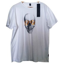Autre Marque-Replay tees-Blanc