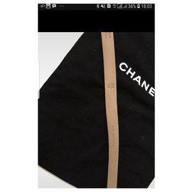 Chanel-Chanel gold belt-Golden