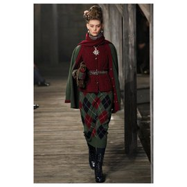 Chanel-Runway Paris-Edinburgh cardigan / veste en cachemire-Autre