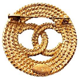 Chanel-CC-Doré