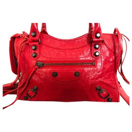 Balenciaga-Mini city-Rouge