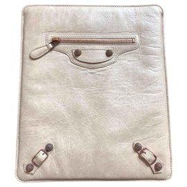 Balenciaga-Purses, wallets, cases-Beige