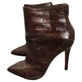 Christian Louboutin-LARMADAME 120-Dark brown