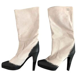 Chanel-Boots-Eggshell