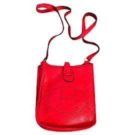 Hermès-EVELYNE TPM-Rouge