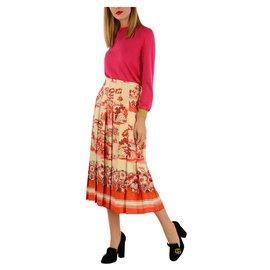 Gucci-Gucci jupe nouvelle-Multicolore