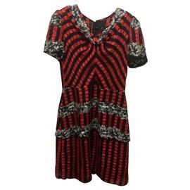 Anna Sui-Rare vintage dress-Black,Red