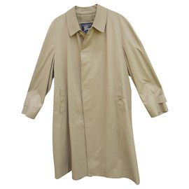 Burberry-Waterproof Burberry vintage size 58-Beige