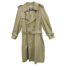 Burberry-vintage Burberry trench 48-Khaki